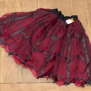 Adult red/burgundy spider 🕷 themed tutu